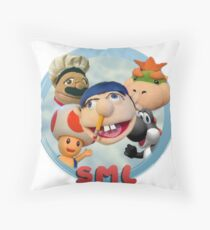 The SML Collection #1 Throw Pillow