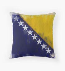 Bosnia And Herzegovina Flag Reworked No. 2, Series 2 Kissen