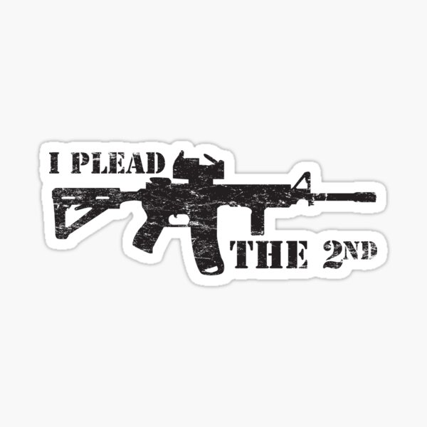 Protected By MP5 Warning Decal Sticker Pro Gun Security Submachine Gun Swat