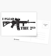 I plead the 2nd Postcards