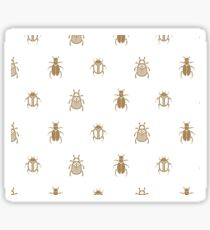 Golden scarab beetles Sticker