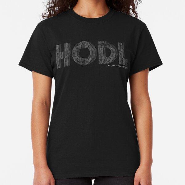 HODL pattern Classic T-Shirt