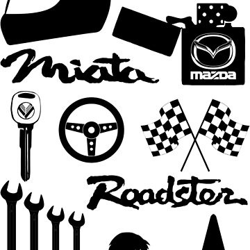 Miata Roadster Originals by MiataApparel