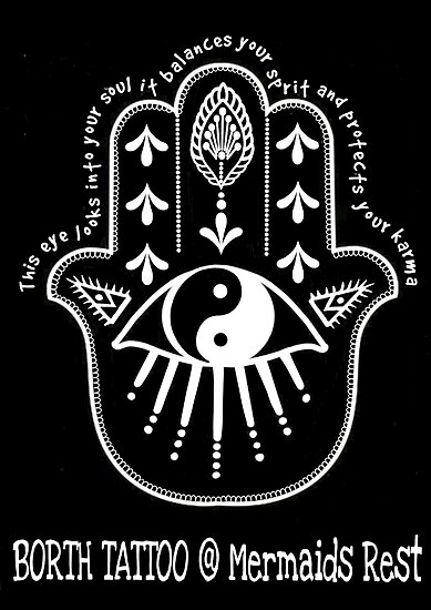 Hand And Eye Of Borth Tattoo Posters By Borthtattoo Redbubble