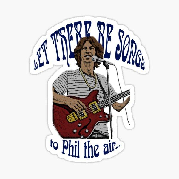 Grateful Dead Phil Lesh T-Shirt Sticker