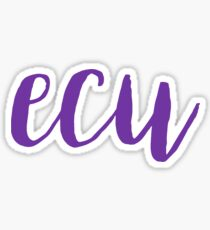 ECU Sticker Sticker