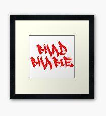 Bhad Bhabie Framed Print