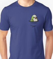 Too Many Birds! - Quaker Parrot/Monk Parakeet T-Shirt