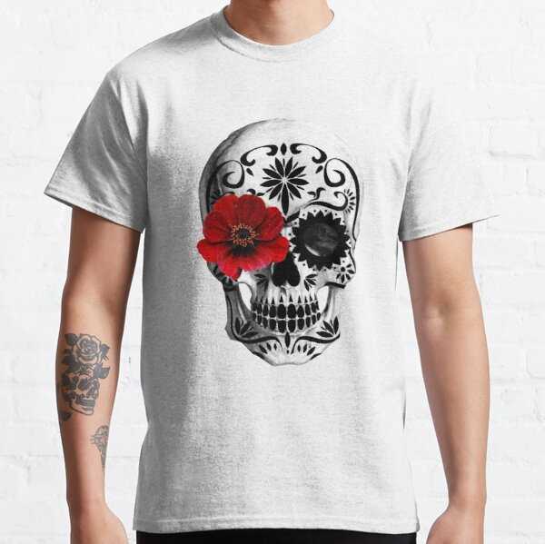 Sugar skull Day of the dead  Classic T-Shirt