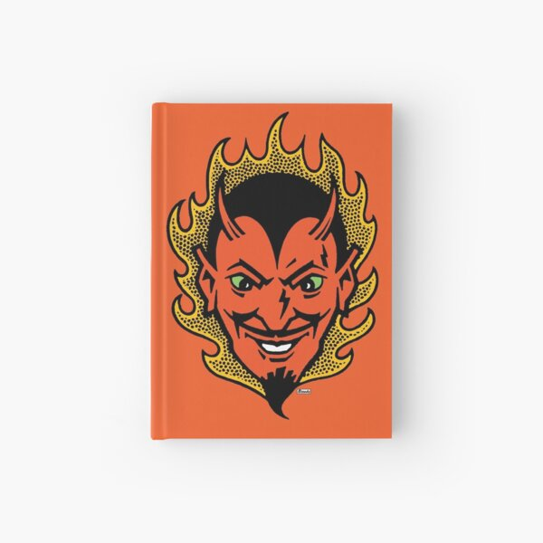 The Devil Made Me Do It Hardcover Journal