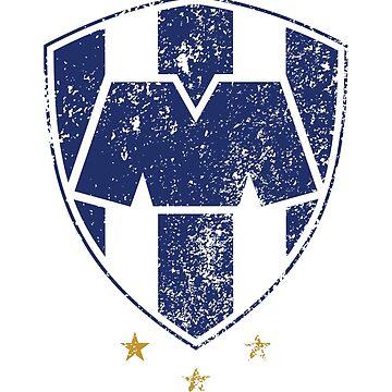Rayados de Monterrey by mqdesigns13