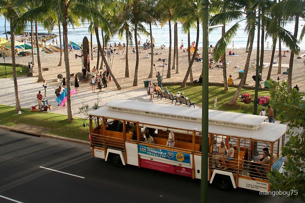Waikiki Trolley by mangoboy75