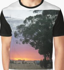 Wimmera Sunrise Graphic T-Shirt