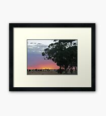 Wimmera Sunrise Framed Print
