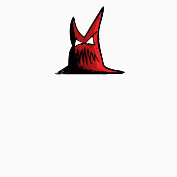 Devil White outline by DarkEternal