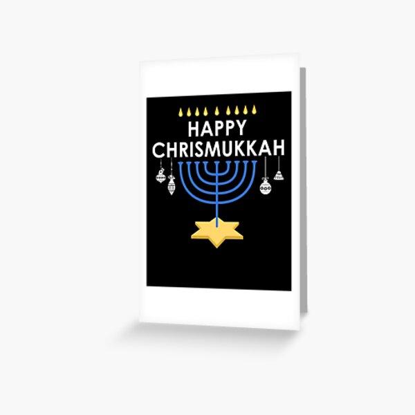 """Peace/"""" Funny Hanukkah//Christmas Interfaith Card /""""Shalom"""