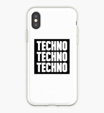 Techno Techno Techno iPhone Case