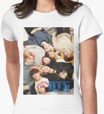 BTS Layin' Around Women's Fitted T-Shirt