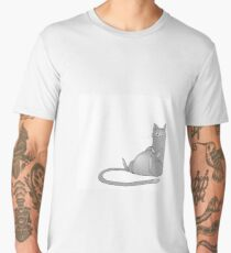 Lazy fat cat Men's Premium T-Shirt