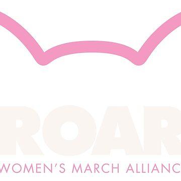 Pink Pussy ROAR - Women's March Alliance by WomensMarchNYC