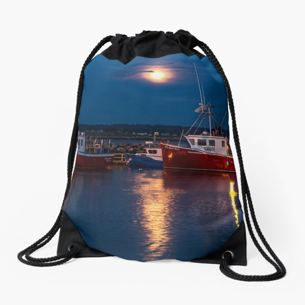 End of the day Drawstring Bag