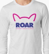 Pussy ROAR - Women's March Alliance Long Sleeve T-Shirt