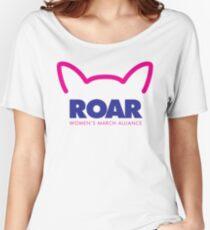 Pussy ROAR - Women's March Alliance Women's Relaxed Fit T-Shirt