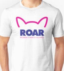 Pussy ROAR - Women's March Alliance Unisex T-Shirt