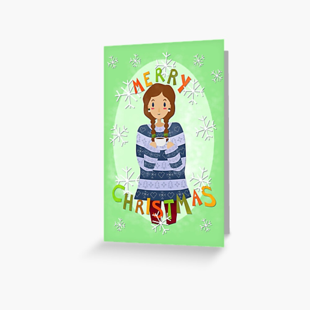 Merry Mug Greeting Card