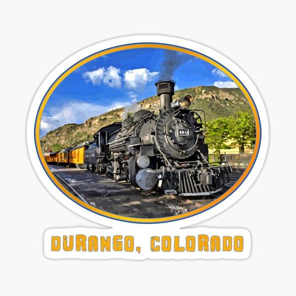 Durango, Colorado Railway - Durango - Silverton Steam Train Sticker
