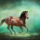 Music To My Ears - Horse Art by Michelle Wrighton