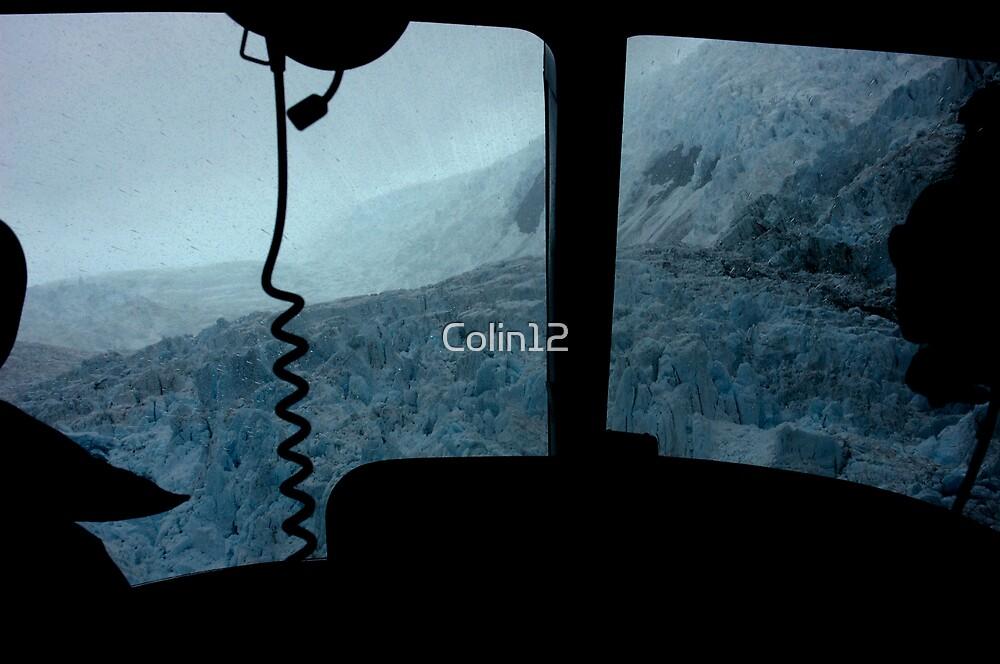 Franz Joseph Glacier from the back seat by Colin12
