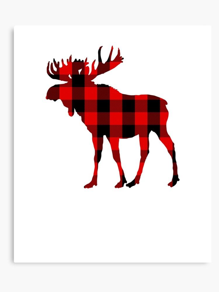 b6fbd972 Red Buffalo Plaid Moose