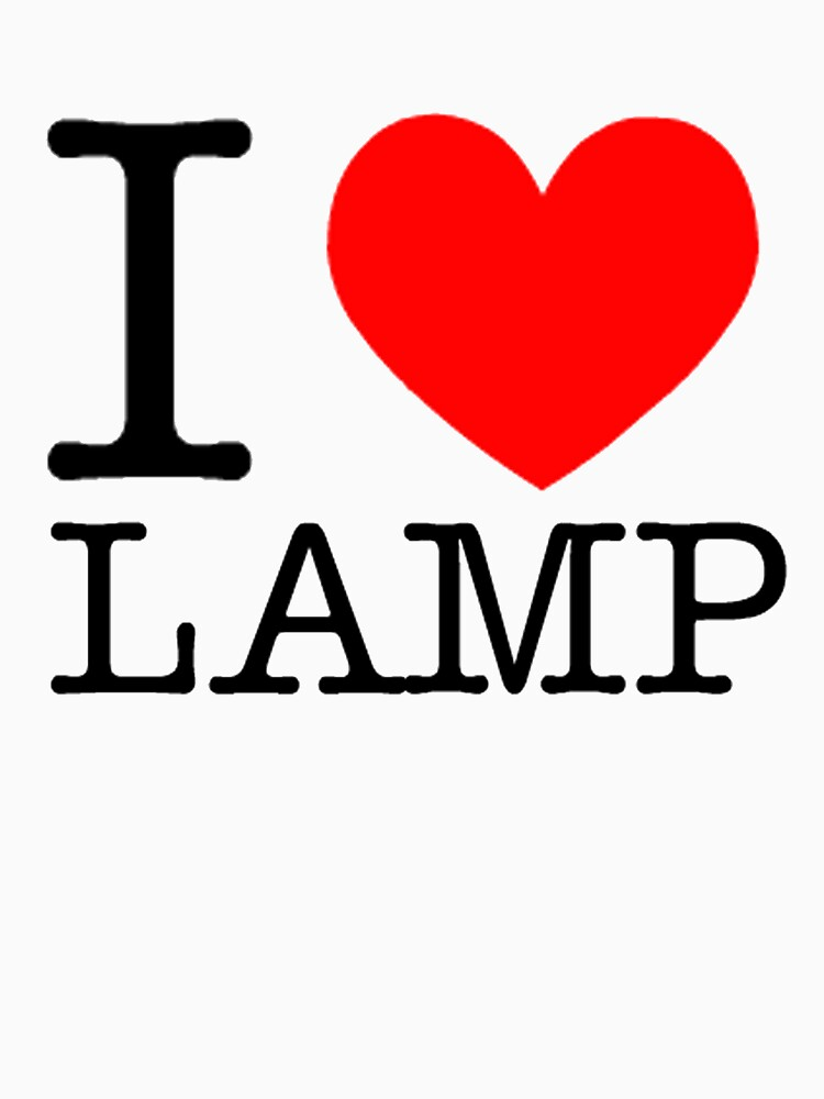 I love lamp | Unisex T-Shirt