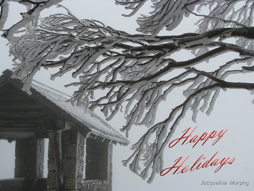 Happy Holidays from Mt. Buffalo by Jacqueline  Murphy