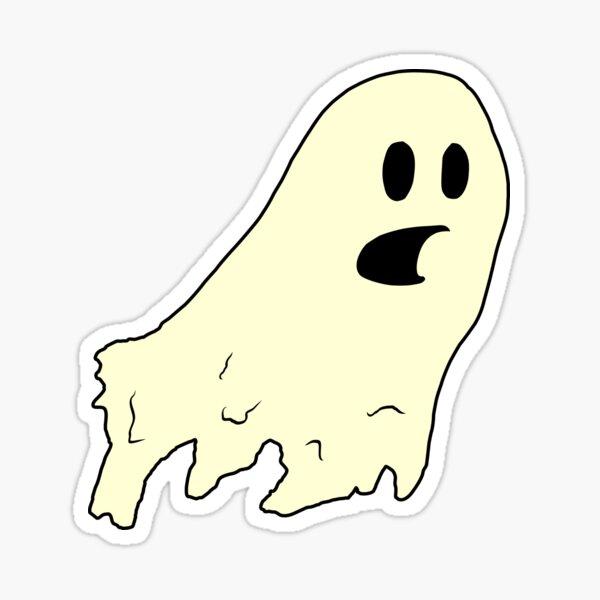 ghost (cream) Sticker
