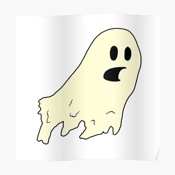 ghost (cream) Poster