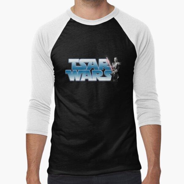Tsar Wars- Nicholas II strikes back! Baseball ¾ Sleeve T-Shirt