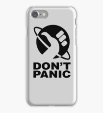 Don't Panic - Hitchhikers Guide iPhone Case/Skin