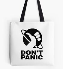 Don't Panic - Hitchhikers Guide Tote Bag