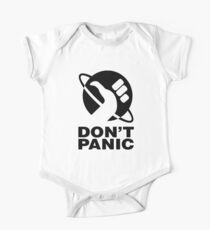Don't Panic - Hitchhikers Guide One Piece - Short Sleeve