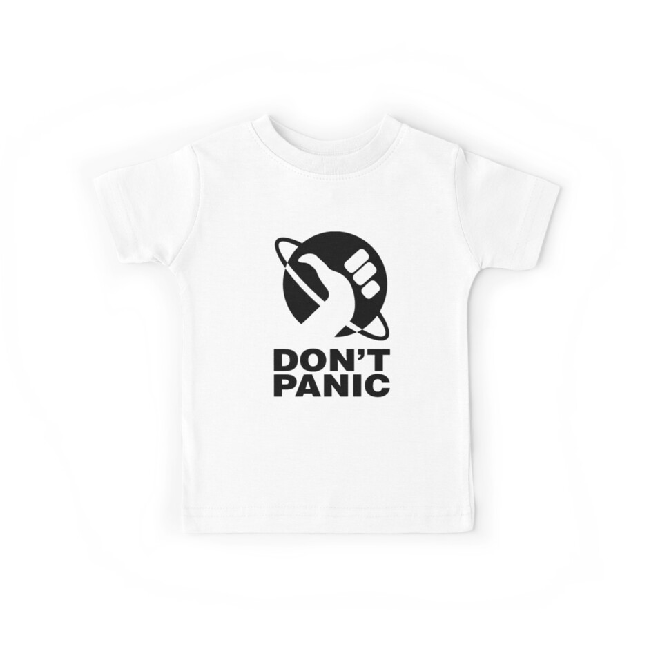 Don't Panic - Hitchhikers Guide von alwatkins1