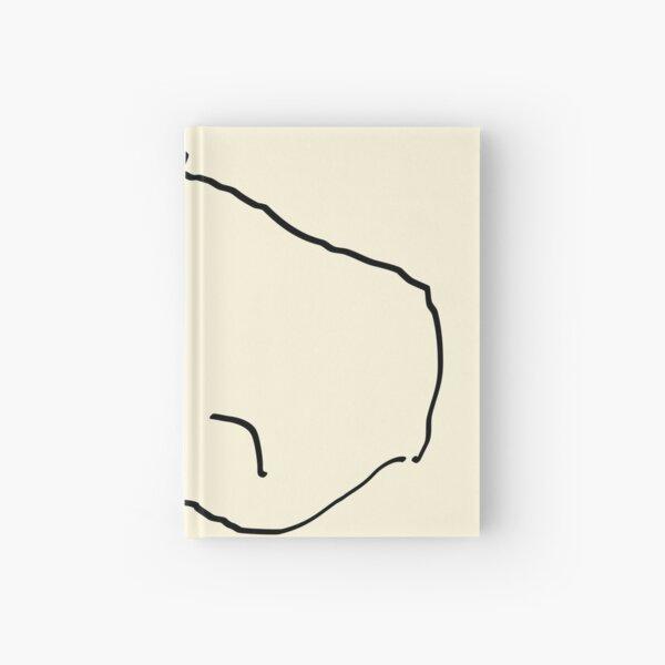 fever sleep (black) Hardcover Journal