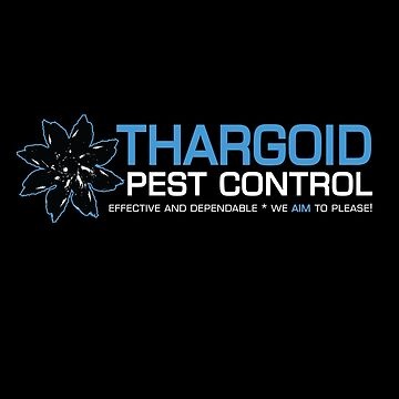 THARGOID PEST CONTROL BLUE by Madjack66