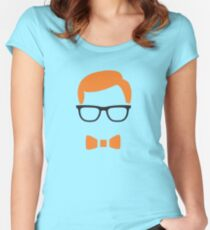 Nerd geek Women's Fitted Scoop T-Shirt