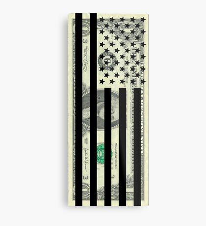 American Dollar Flag Metal Print