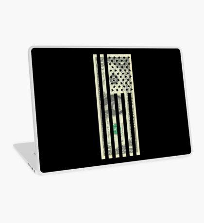 American Dollar Flag Laptop Skin