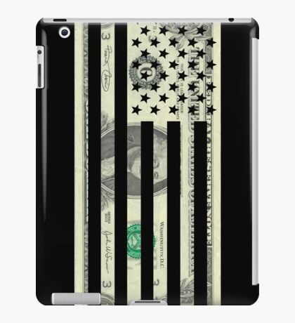 American Dollar Flag iPad Case/Skin