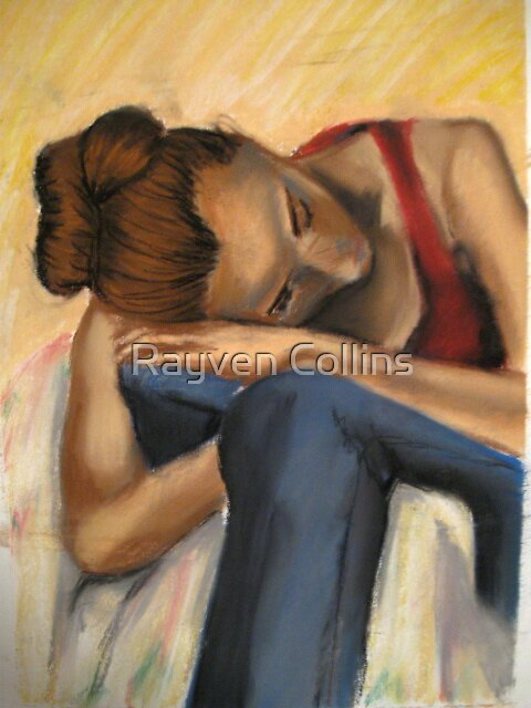 pastel study by Rayven Collins
