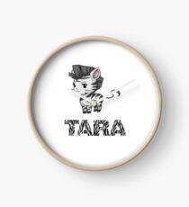 Zebra Tara Clock